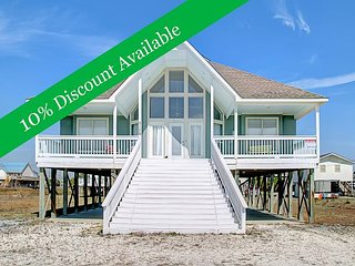 10% Discount Available | Near Gulf of Mexico | Beautiful deck | Pet Friendly! - Dauphin Island vacation rentals