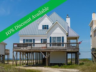 10% Discount Available | On the Sound | Amazing Deck | Fully stocked kitchen! - Dauphin Island vacation rentals