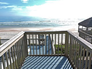 Direct Oceanfront Home 3 Bdrm 3 bath 2 Mstr Suites - New Smyrna Beach vacation rentals