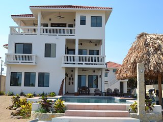 New 5 Bedroom Private Beach Front 3 Story Custom Home with Pool - Placencia vacation rentals