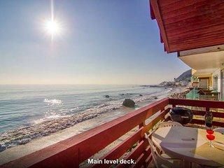 #96 Classy Malibu Oceanfront house on Moon Shadows Beach - Malibu vacation rentals