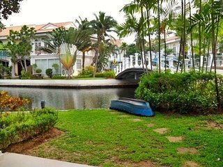 Two bedroom beautiful house waterfront in the gated estate - Talat Nuea vacation rentals