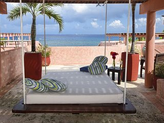 Oceanfront with pool 2 bedroom penthouse (LEG3) 35% off - Playa del Carmen vacation rentals
