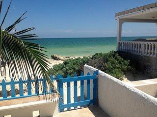 Villas del Sol - Chelem Condo - Beachfront Bargain - Chelem vacation rentals