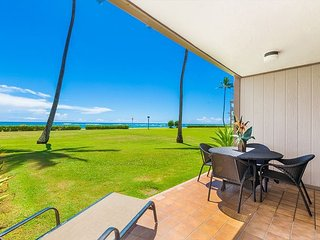 Pono Kai Unit C-101, Oceanfront, Ground Floor, End Unit, Steps from the Beach - Kapaa vacation rentals