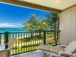 Pono Kai Resort A305, Oceanfront, Walk to Town, Steps to Sandy Beach - Kapaa vacation rentals