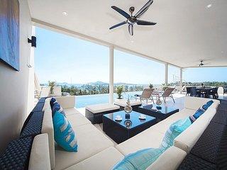 Stunning 8 bed sea view villa at Rawai - Coral Island (Koh Hae) vacation rentals