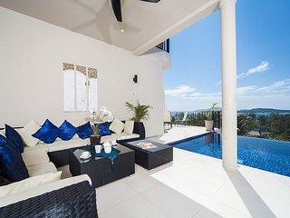 Breathtaking 8 bed ocean view villa - Coral Island (Koh Hae) vacation rentals
