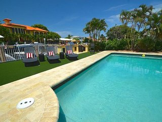"By The Sea Vacation Villas LLC- ""Casa Panacea""   WATERFRONT HTD POOL  STUNNING! - Fort Lauderdale vacation rentals"
