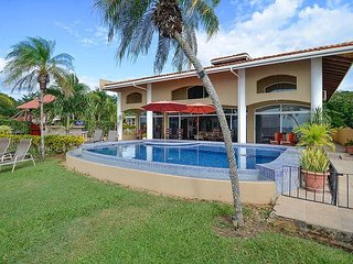 Amazing Beach Front Villa 5 bd 5 ba with Infinity Pool-step onto the sand - Playa Potrero vacation rentals
