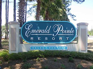 Emerald Pointe Resort - Quiet side of Panama City - Panama City Beach vacation rentals