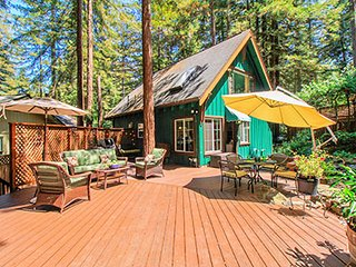 Charming House with Deck and Internet Access - Guerneville vacation rentals
