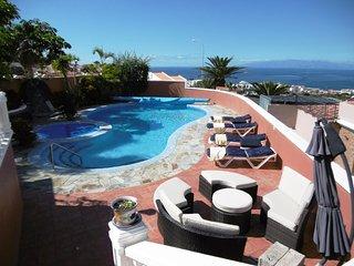 Villa with amazing view and private pool - Playa de las Americas vacation rentals