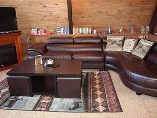Located at Big Powderhorn - 3 BR A-Frame - Hot Tub - Bessemer vacation rentals