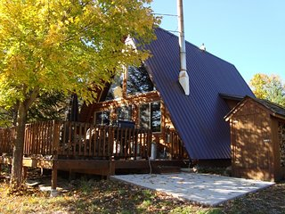 Located at Big Powderhorn - 2 BR A-Frame - Hot Tub - Bessemer vacation rentals
