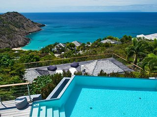 Luxury Hilltop Villa in St Barts with Pool and Endless Ocean Views - Gouverneur vacation rentals