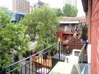 (14) studio with balcony st hubert - Montreal vacation rentals