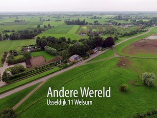 Dutch dike house with garden (Welsum) - Deventer vacation rentals