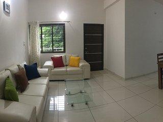 Satvam - 2 BHK fully furnished Appt. - Vadodara vacation rentals