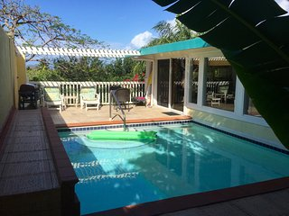 LUXURY Private Pool Villa .  Walk to 3 beaches. - East End vacation rentals
