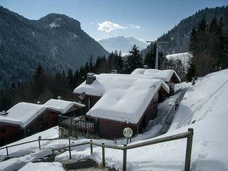 2 bedroom chalet with mezzanine.  Stunning views. - Les Gets vacation rentals