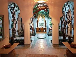 Havre de paix dans jardin luxuriant, 5 min centre - Marrakech vacation rentals