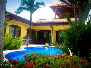 EcoVida Casa Famosa with Private Pool and Tower! Walk to the Beach! - Playa Bejuco vacation rentals