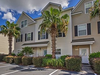NEW! 3BR North Charleston Townhouse w/Water Views! - North Charleston vacation rentals