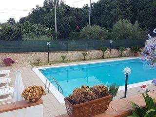 Villa A.R. pool, garden,views Etna and  Ionian sea - Acireale vacation rentals