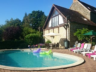Farmhouse With Heated Pool Set In Rural Landscape - Carrouges vacation rentals