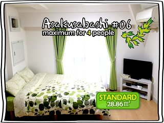 #06 BEST VIEW! BRIGHT ROOM FOR 4! - Taito vacation rentals