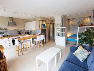 Grand studio 4* à pied des plages & golf - La Napoule vacation rentals