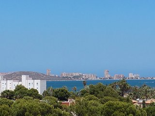 Beautiful 2 bed penthouse apartment- amazing views - Mar de Cristal vacation rentals