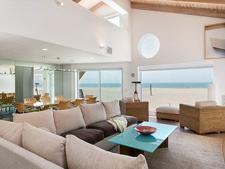 Upscale Beachfront Home with Channel Island Views from 3 Breezy Decks - Oxnard vacation rentals