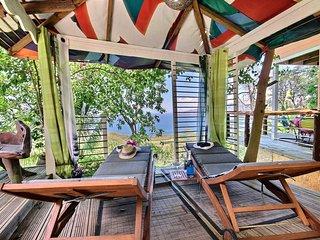 Cottage 2 chambres, proche plage, jacuzzi, vue mer - Les Anses d'Arlet vacation rentals