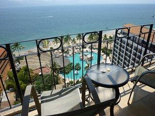 Beachfront - 15th Floor Ocean Views - Great Beach - Puerto Vallarta vacation rentals