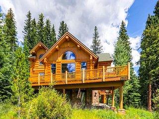 Custom Luxury Log Home Situated on 4 O'clock Run - Ski-in/Ski-out! - Breckenridge vacation rentals