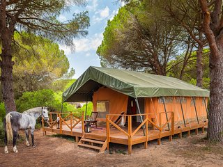 Beautiful Tented camp with Balcony and Microwave - Puerto Real vacation rentals