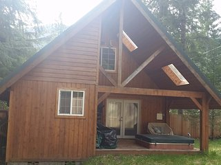 Juniper Cabin at Mount Rainier, Private Hot Tub - Ashford vacation rentals