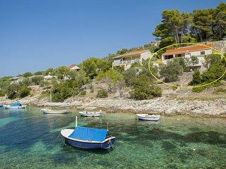 Villa Bistrana H(4) - Cove Tankaraca (Vela Luka) - Cove Mikulina luka (Vela Luka) vacation rentals