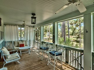 Stunning 3BR house in WaterSound, screened porch  - Captain's Cottage - Santa Rosa Beach vacation rentals