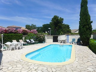 3 bedroom Villa in Montpellier, Herault Aude, France : ref 2216304 - Perols vacation rentals