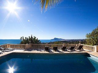 3 bedroom Villa in Altea, Costa Blanca, Spain : ref 2250433 - Altea vacation rentals