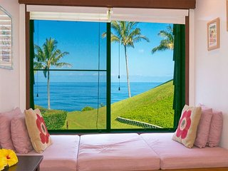Affordable oceanview 1br in quiet oceanfront Sealodge at Princeville - Princeville vacation rentals