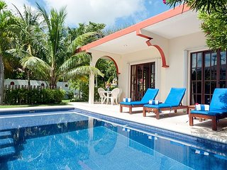 Relax by the sparkling pool and enjoy the ocean breeze. - Puerto Morelos vacation rentals