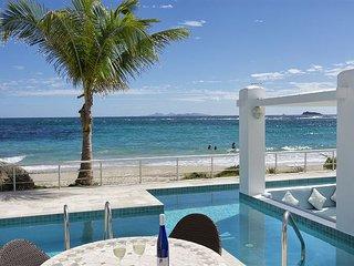 Ginger:3 bedr beachfront private villa at Coral Beach CLub  Island Properties - Dawn Beach vacation rentals