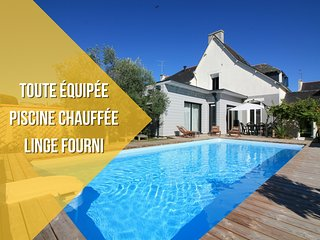MAISON + PISCINE CHAUFFÉE + LINGE FOURNI - Vannes vacation rentals