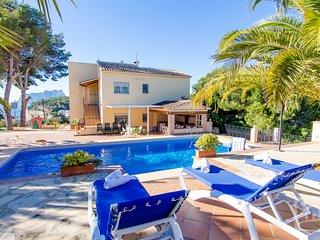 6 bedroom Villa in Benissa, Costa Blanca, Spain : ref 2287049 - La Llobella vacation rentals