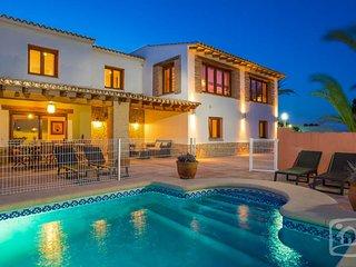 5 bedroom Villa in Benissa, Costa Blanca, Spain : ref 2287075 - Canor vacation rentals