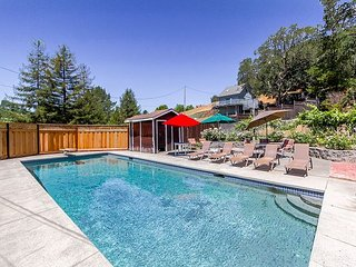 Fun, Spacious Cottage Retreat w/ Private Pool & Mountain Views - Glen Ellen vacation rentals